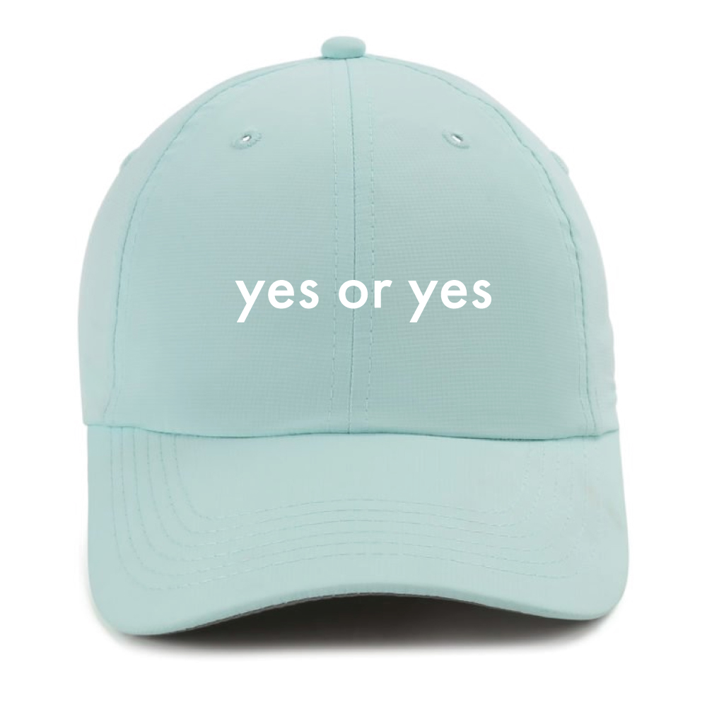 Yes or Yes Hat by Le Sweat